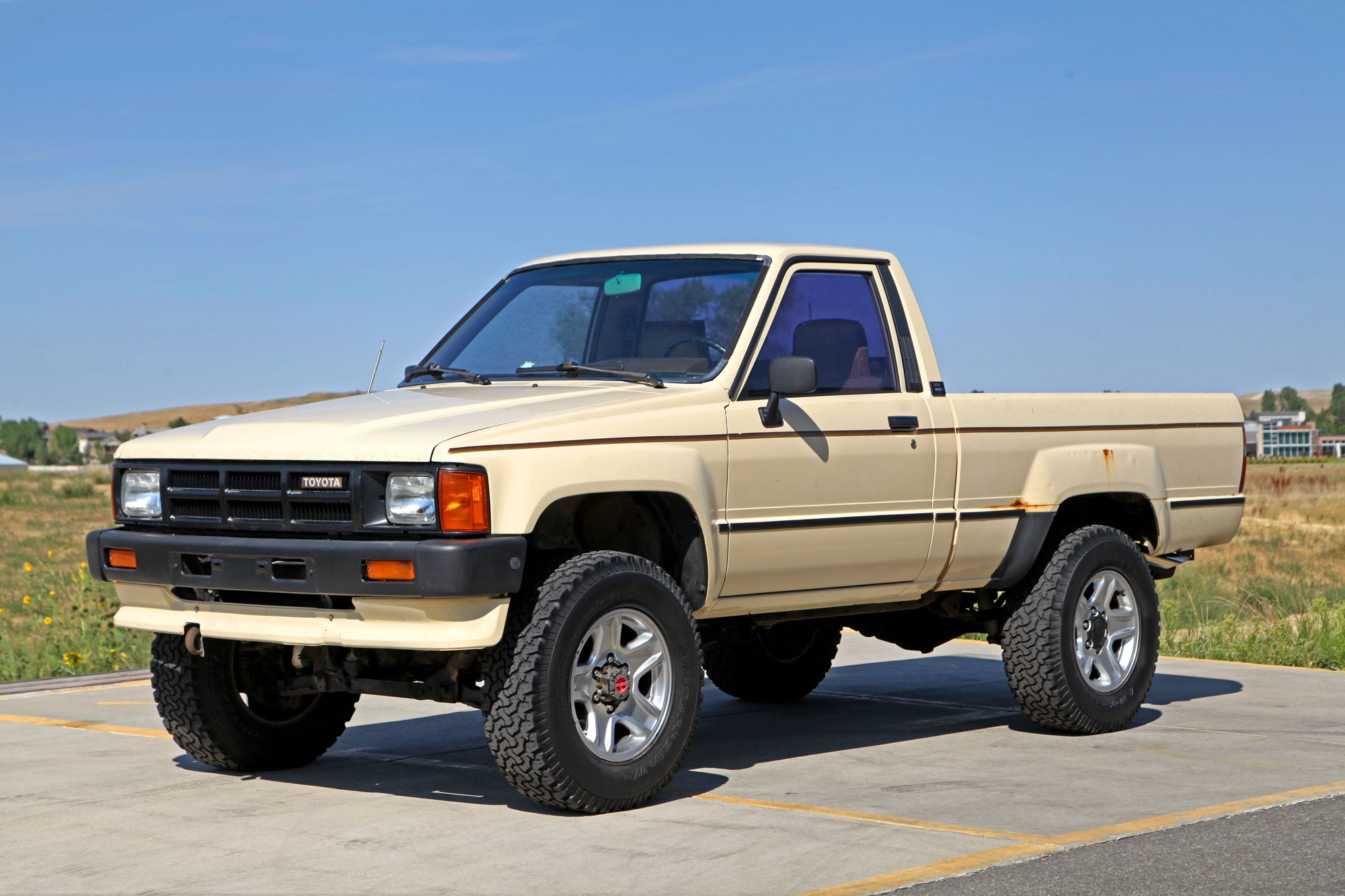 1986 toyota turbocharged 4x4 pickup glen shelly auto. Black Bedroom Furniture Sets. Home Design Ideas
