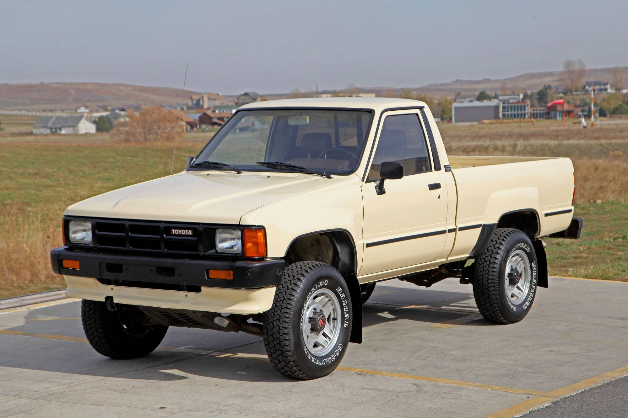 1986 toyota efi turbo 4x4 pickup glen shelly auto. Black Bedroom Furniture Sets. Home Design Ideas