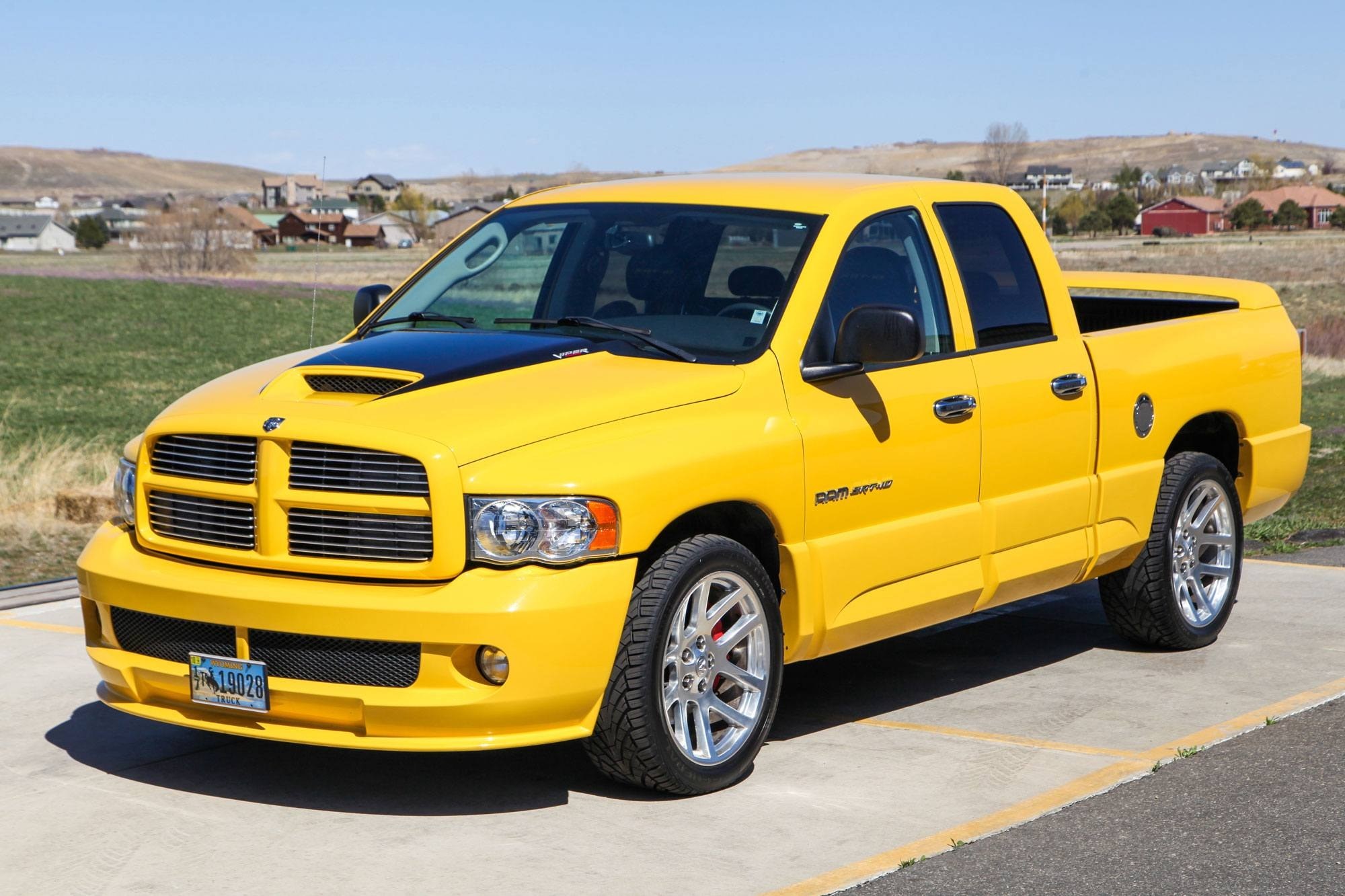 2005 Dodge Ram SRT-10 Yellow Fever Special Edition