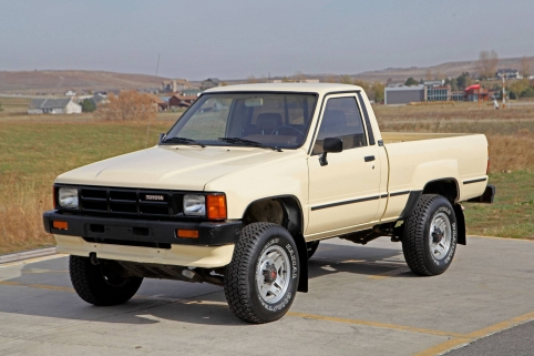 1986 Toyota EFI Turbo 4x4 Pickup