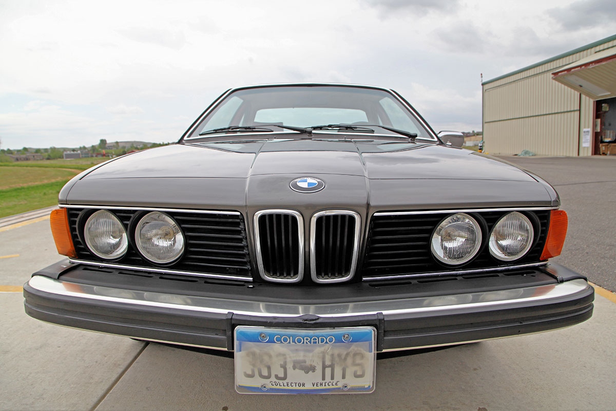 1979 BMW 633CSi exterior photo