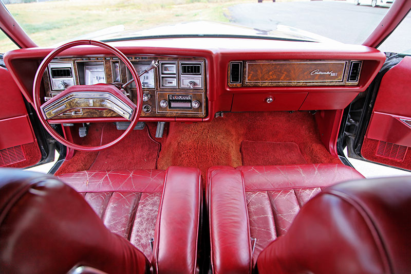 1979 Lincoln Continental Mark V interior photo
