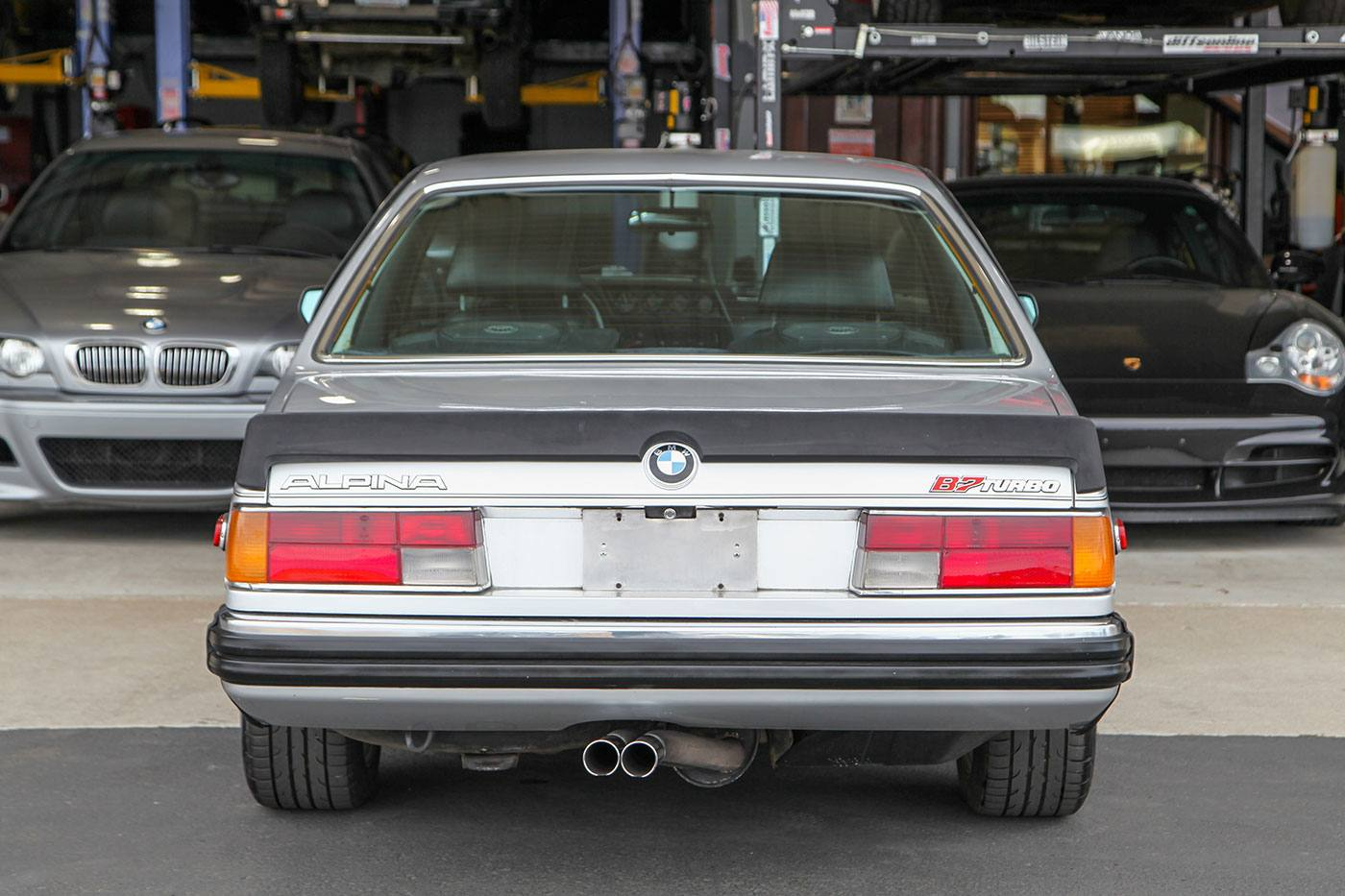 1980 Alpina B7 Turbo Coupe (E24) exterior photo