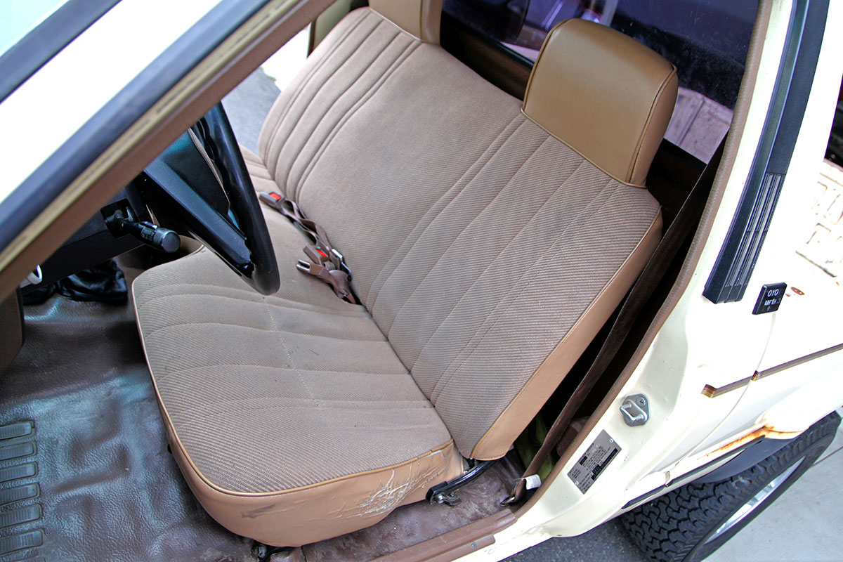 Pleasant 1986 Toyota Pickup Bench Seat Covers Pabps2019 Chair Design Images Pabps2019Com