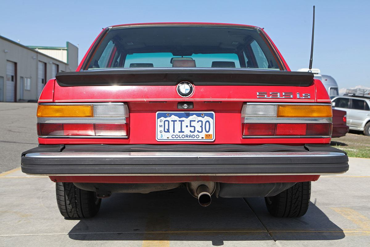 1987 BMW 535iS