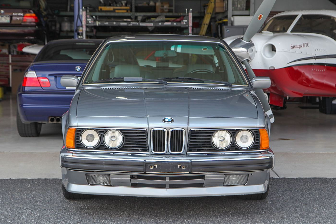 1988 BMW 635CSi exterior photo