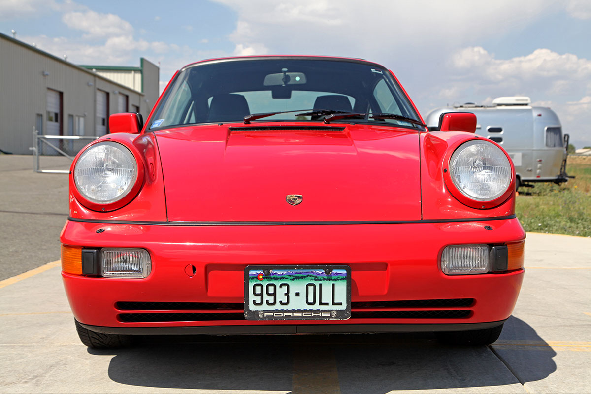 1989 Porsche (964) 911 C4 Coupe exterior photo