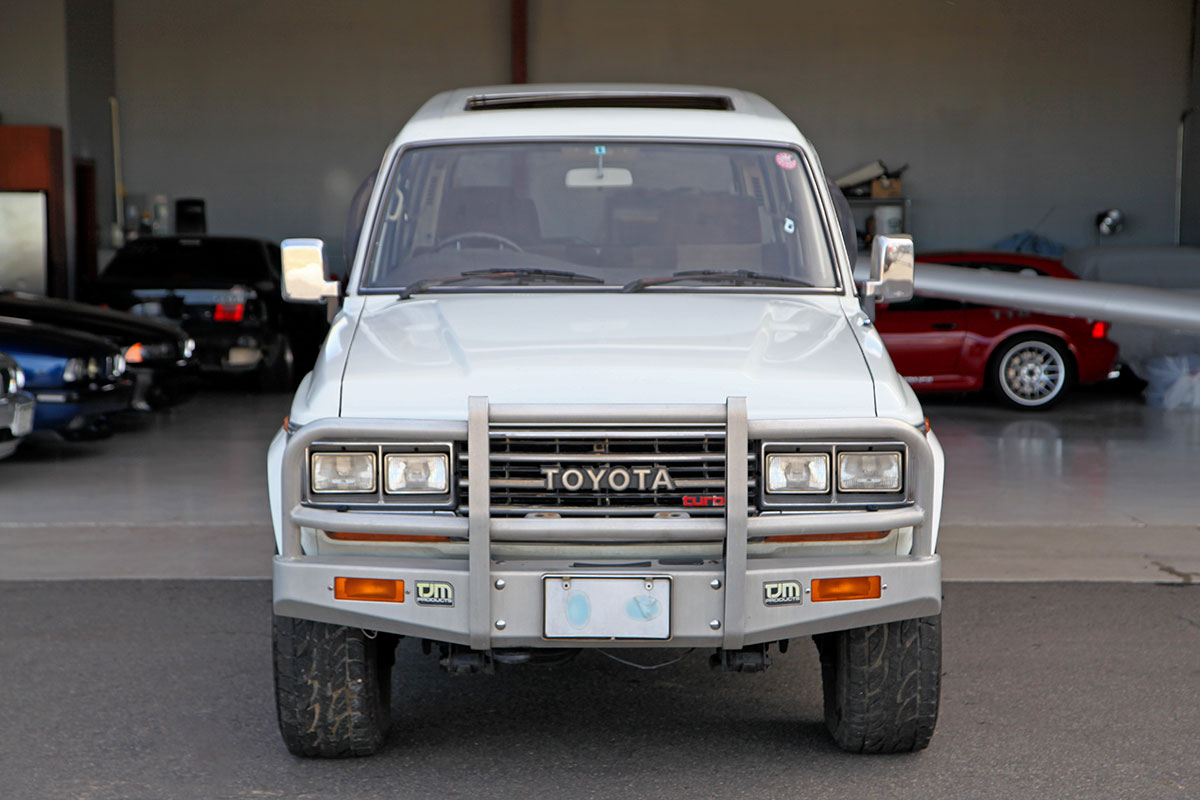1989 Toyota Land Cruiser HJ61 exterior photo