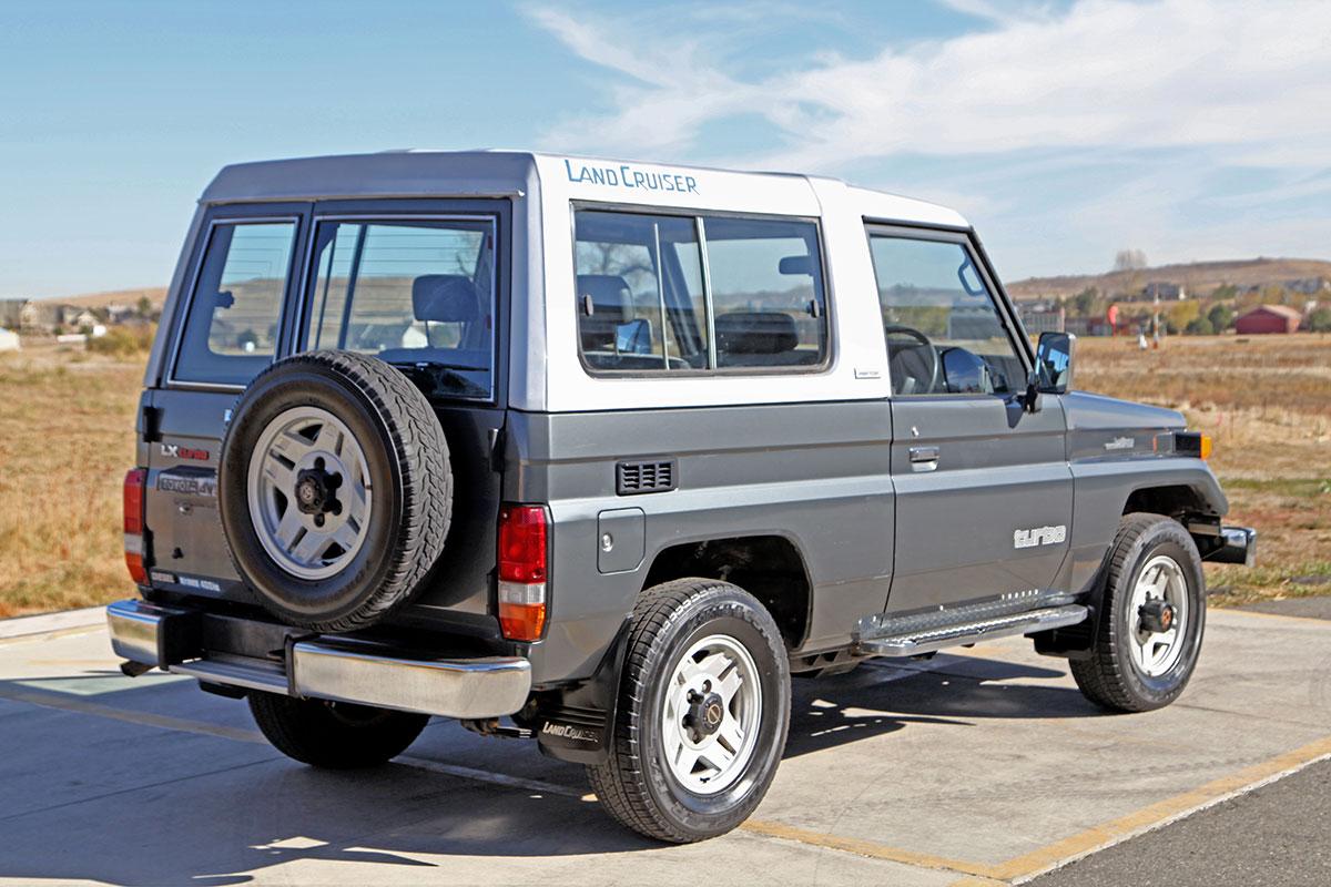 1989 Toyota Land Cruiser Bj74 Glen Shelly Auto Brokers Denver Colorado