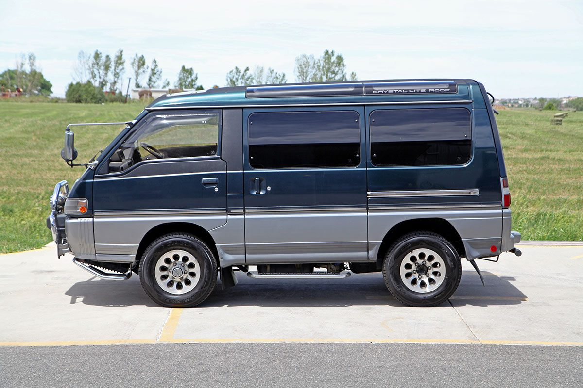 1992 Mitsubishi Delica Super Exceed Glen Shelly Auto Brokers Denver Colorado