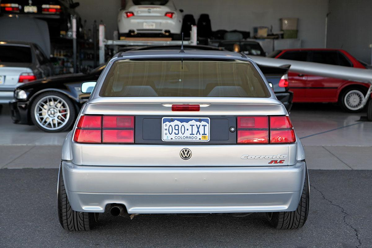 1992 Volkswagen Corrado VR6 SLC exterior photo