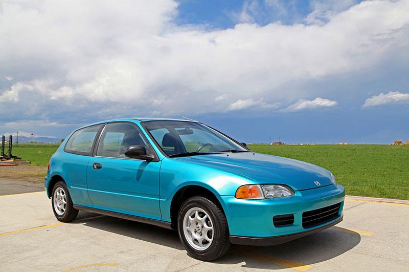 1992 Honda Civic Vx | Glen Shelly Auto Brokers — Denver ...