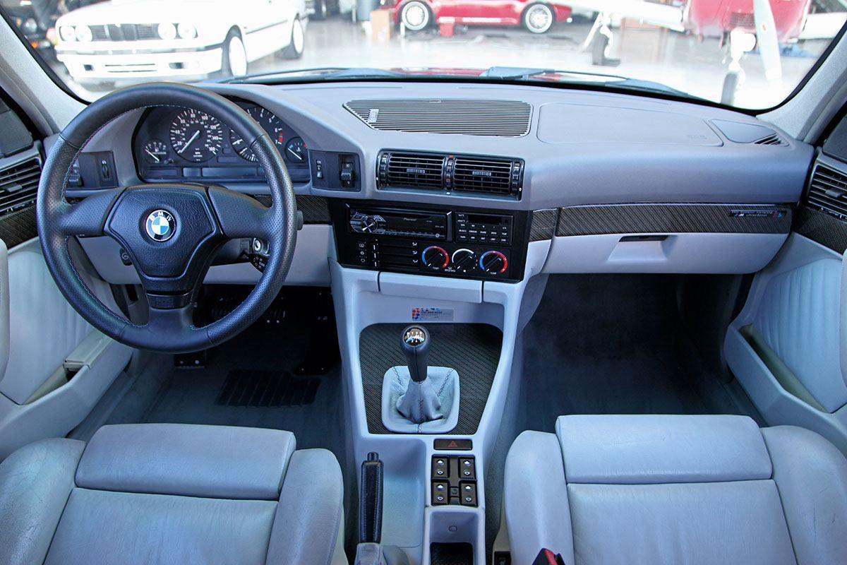 1995 Bmw 540i Interior