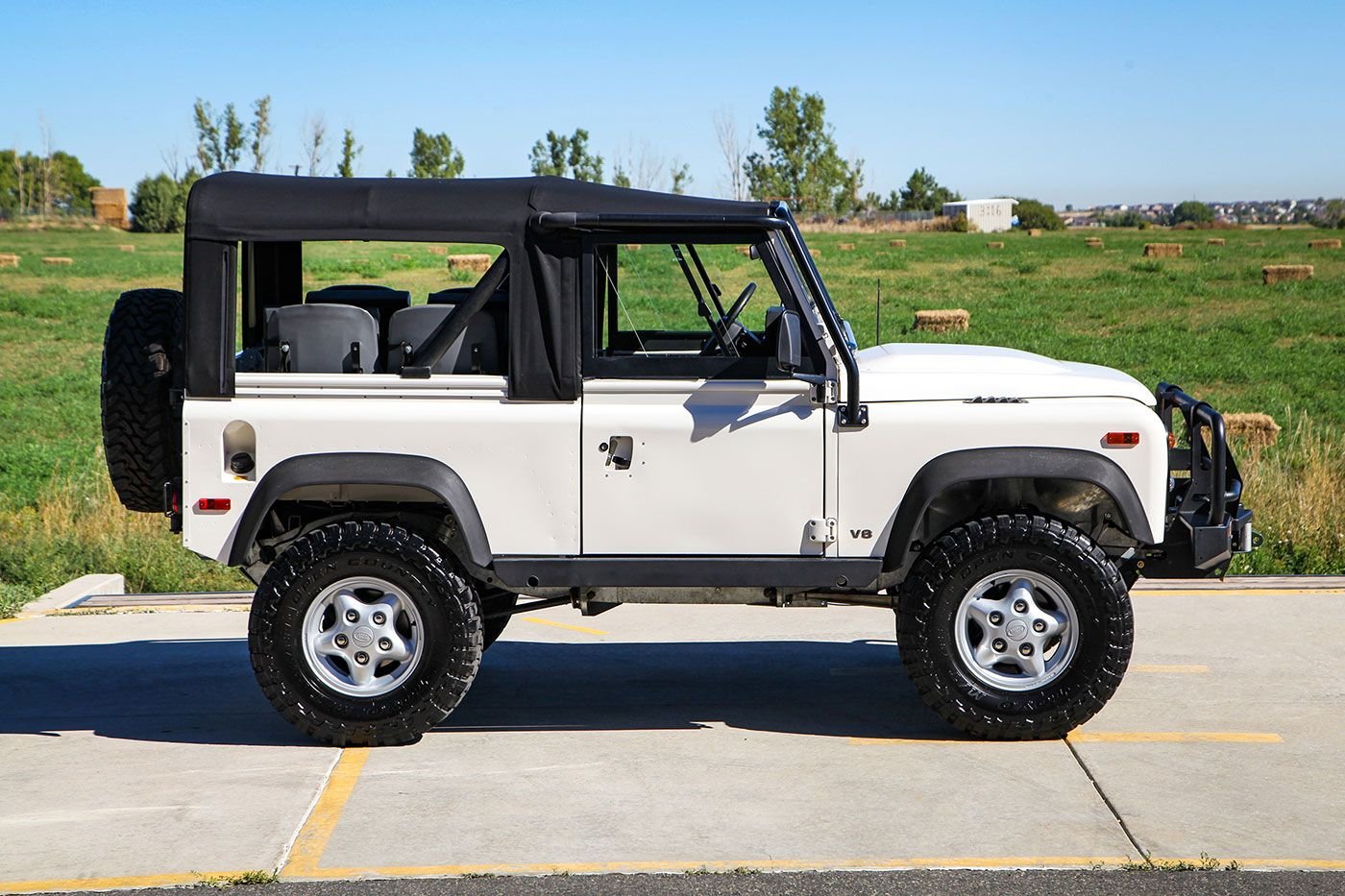 1997 LRC Customs LS3-Powered Land Rover LAS Defender 90 exterior photo