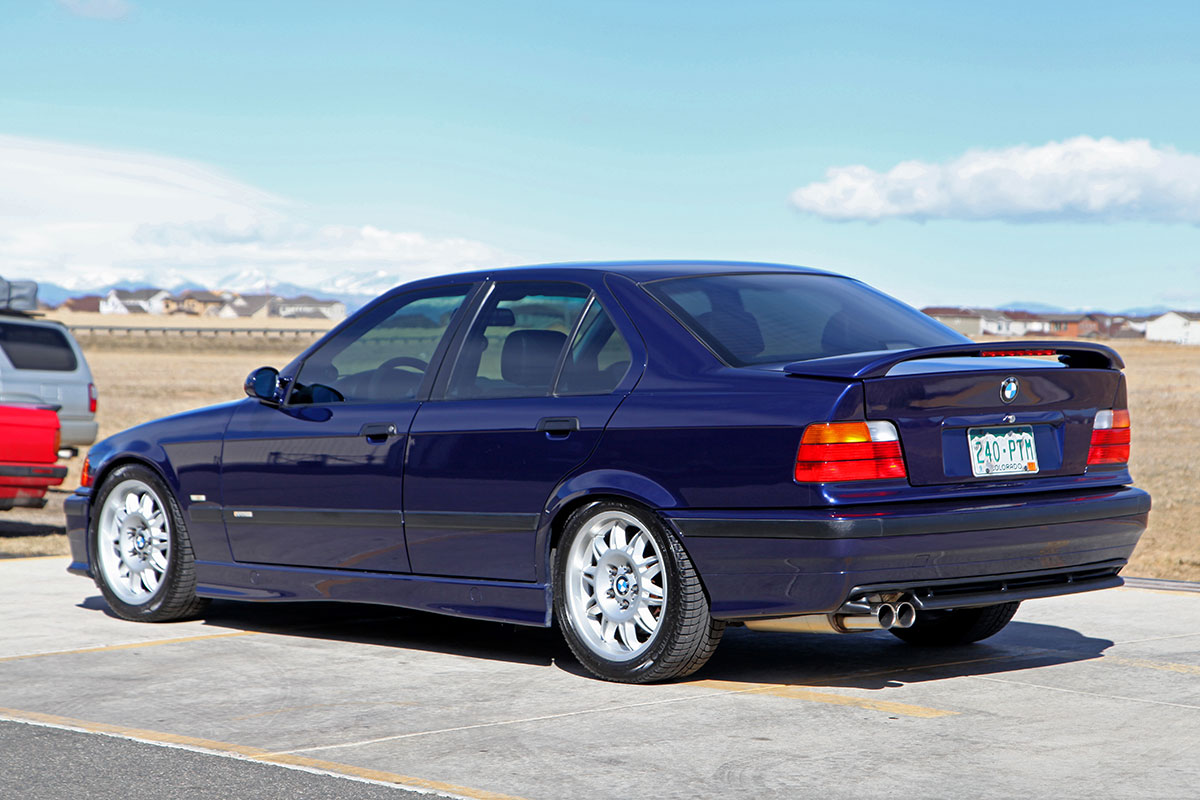 1998 BMW (E36) Supercharged 318i Sedan