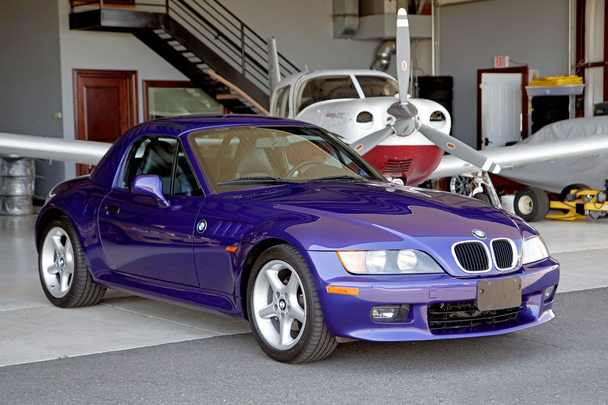 1998 BMW Z3 Roadster Individual exterior photo