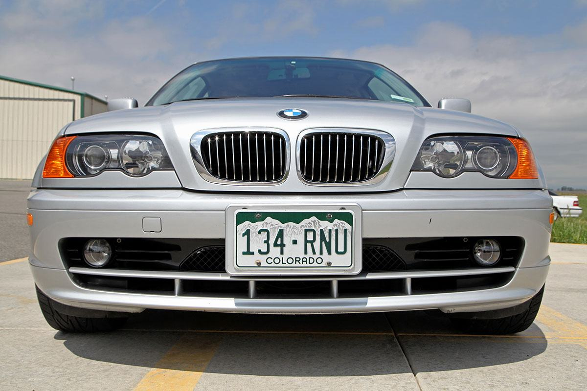 2000 BMW 323Ci exterior photo