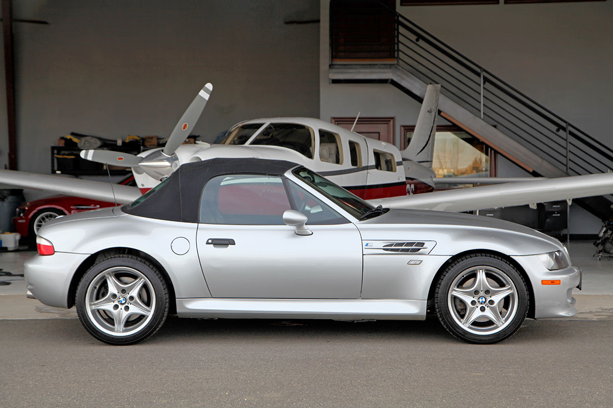 2000 BMW M Roadster exterior photo