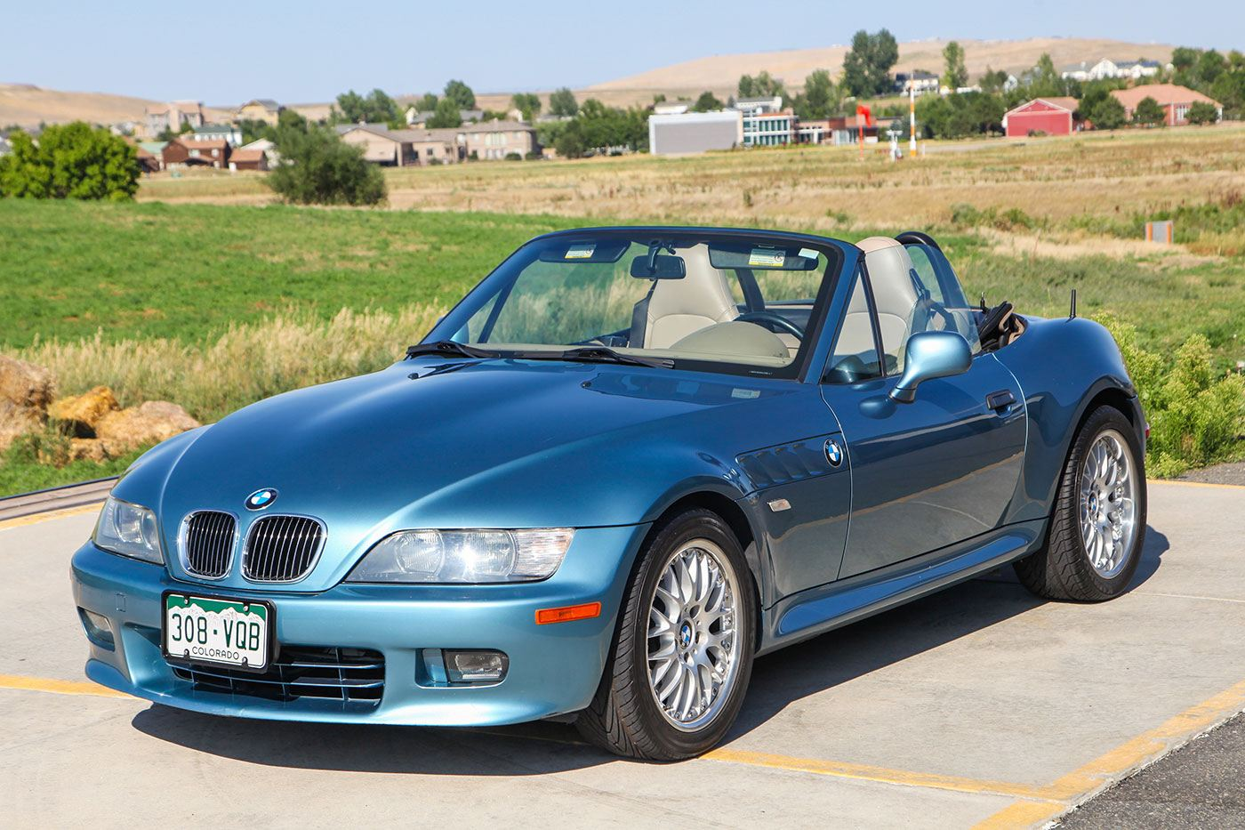 2001 BMW Z3 Roadster exterior photo
