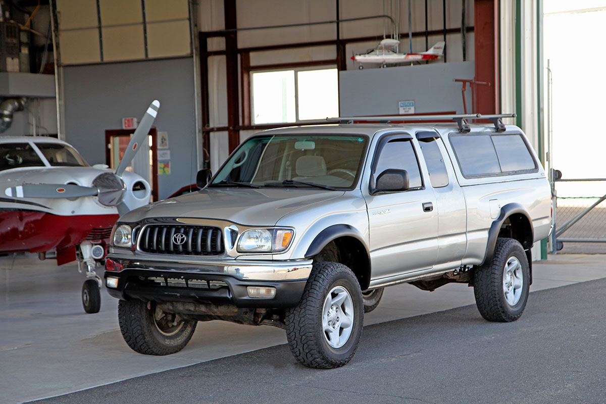 2001 Toyota Tacoma 4X4 Extra Cab TRD Off Road SR5 exterior photo