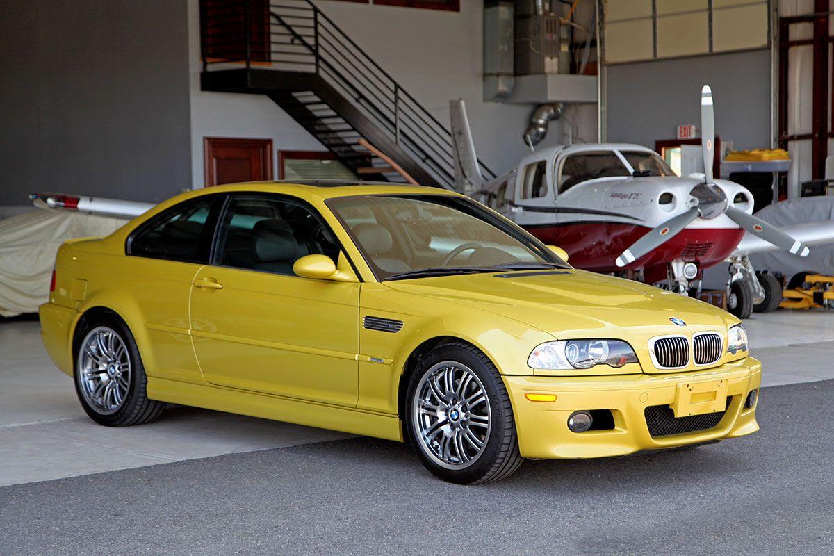... 2002 BMW (E46) M3 Coupe ...