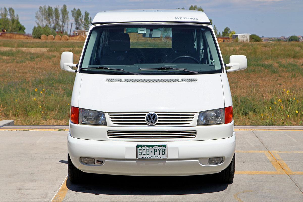 ... 2002 Volkswagen Eurovan MV Weekender ...