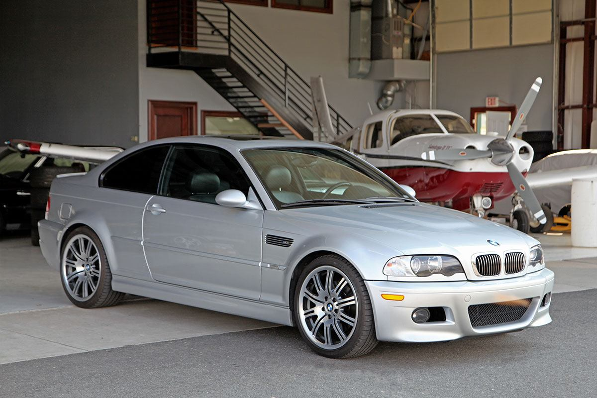 2003.5 BMW (E46) M3 Coupe exterior photo