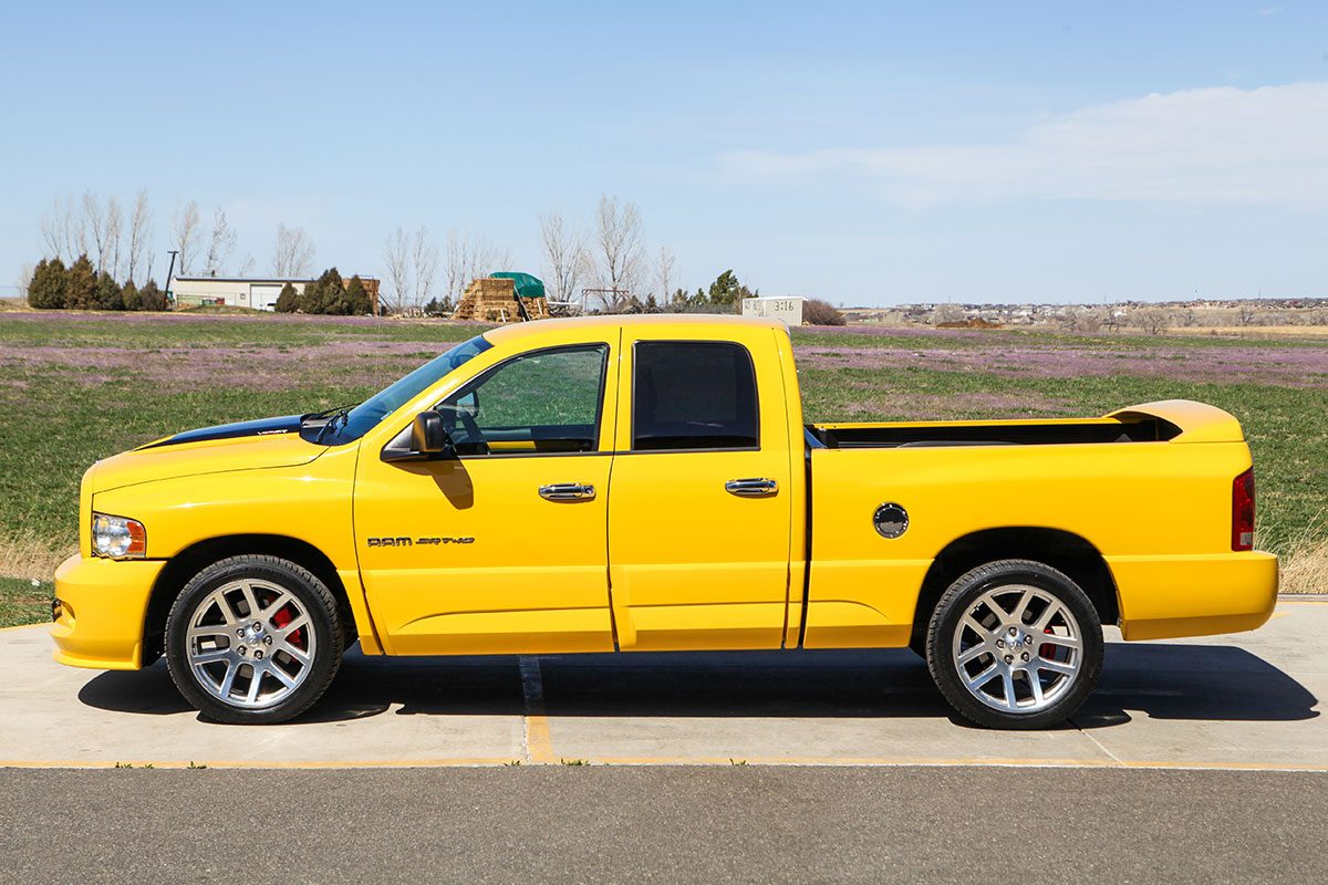 2005 Dodge Ram SRT-10 Yellow Fever Special Edition exterior photo