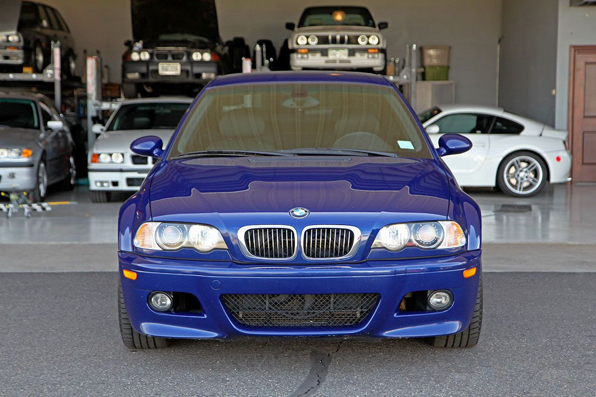 2006 BMW (E46) M3 Coupe Competition Package (ZCP) exterior photo