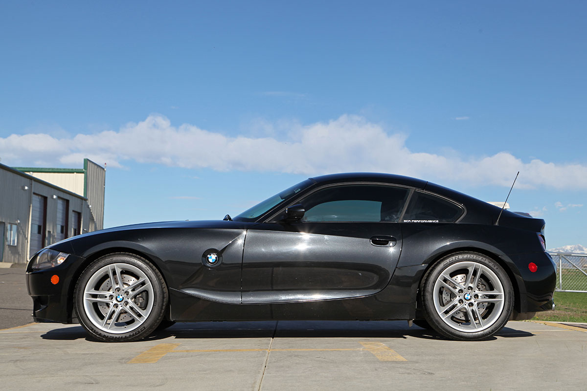 2007 BMW Z4 M Coupe exterior photo