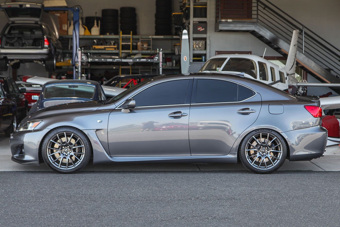 2012 Lexus IS-F exterior photo